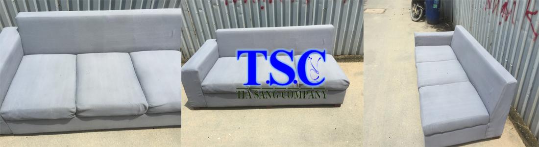 Ghế sofa sau khi được vệ sinh