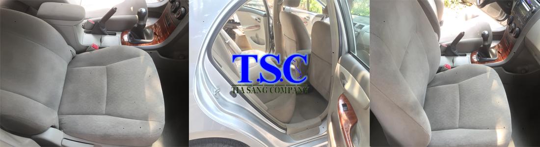 dịch vụ giặt ghế xe hơi tại nhà ở Tp.HCM