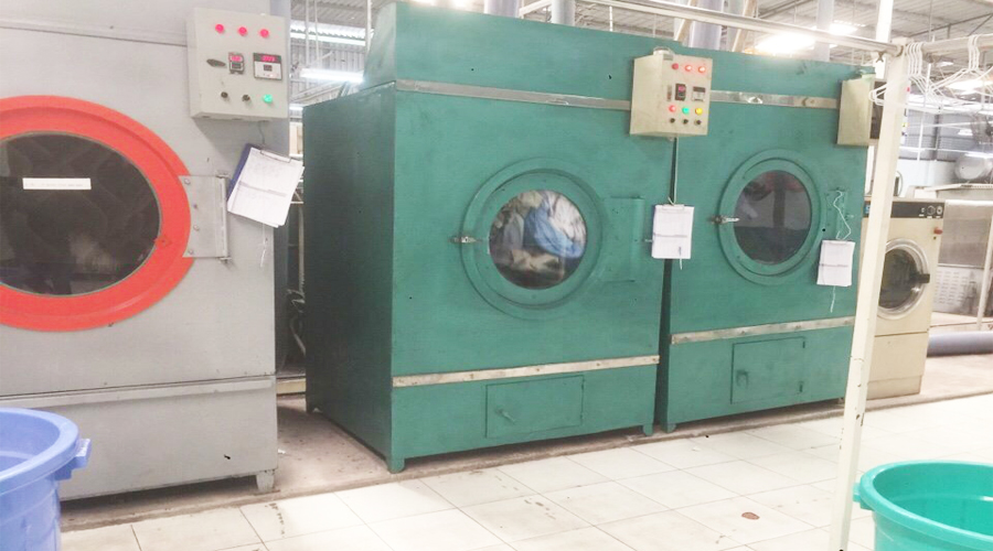 xưởng giặt màn cửa