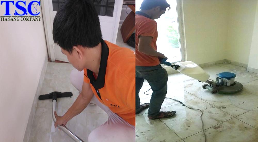 Dịch vụ vệ sinh công nghiệp tại nhà ở khu vực Tp.HCM