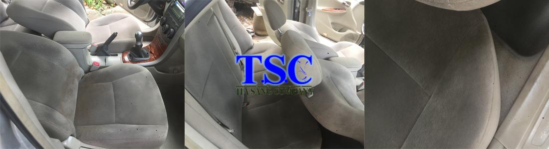 giặt ghế xe hơi tại khu vực Tp.HCM