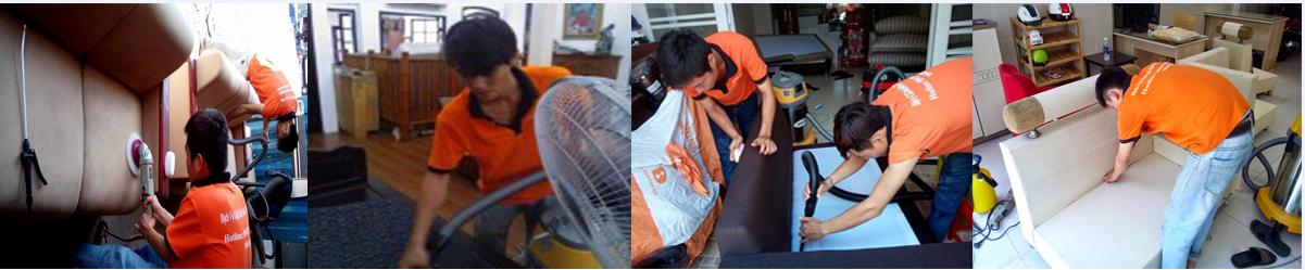 Cung cấp dịch vụ giặt ghế