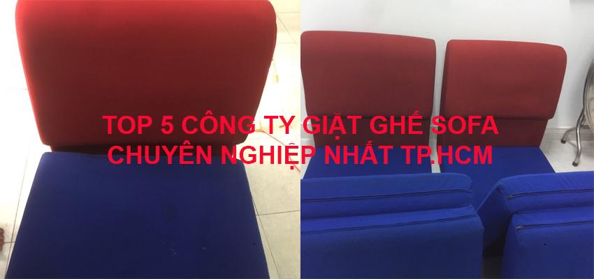 Top 5 công ty chuyên giặt ghế sofa tốt nhất Tp.HCM.