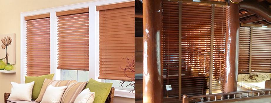 Rèm cửa bằng gỗ