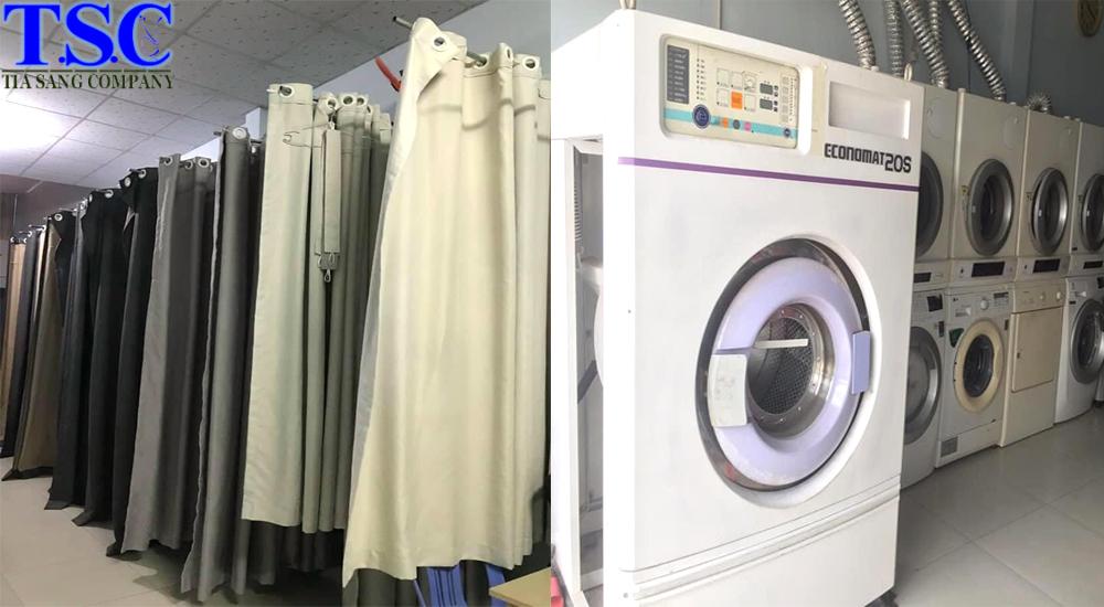 Quy trình giặt rèm cửa