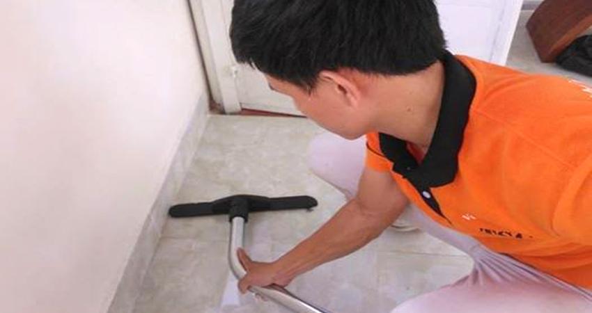 Dịch vụ vệ sinh công nghiệp tại nhà