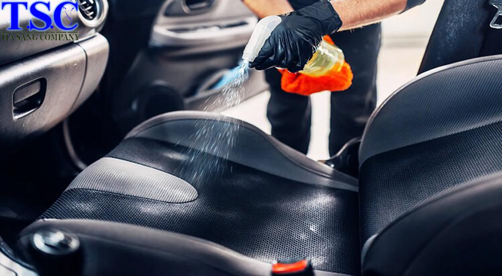 Dịch vụ giặt ghế xe hơi tại Tp.HCM