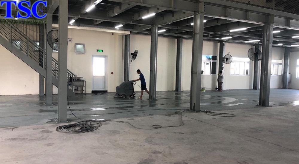 Quy trình vệ sinh nhà xưởng